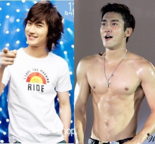 Khác hoàn toàn với vẻ ngoài thư sinh khi ra mắt, Siwon (Super Junior) khiến nhiều người không khỏi ganh tỵ với thân hình hiện tại của mình.