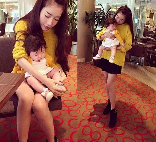 Phong cách thời trang cực chất của Elly Trần và con gái