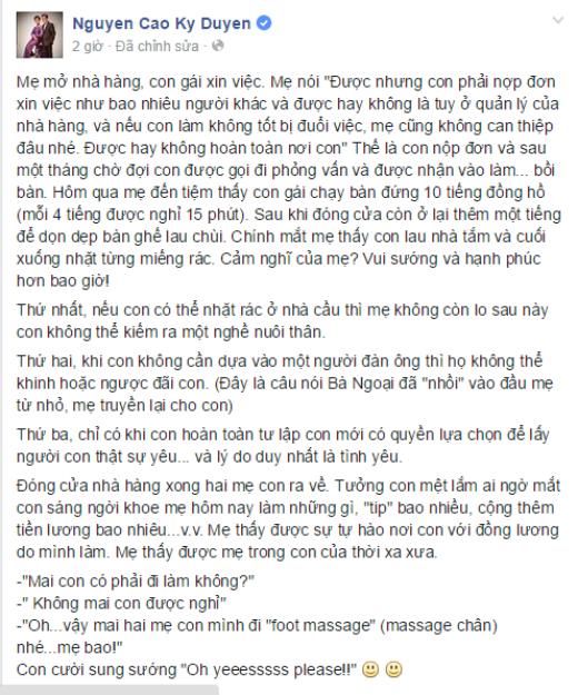 MC Kỳ Duyên khiến cư dân mạng thán phục về cách dạy con - Tin sao Viet - Tin tuc sao Viet - Scandal sao Viet - Tin tuc cua Sao - Tin cua Sao