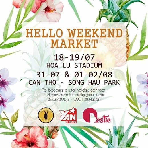 Mùa hè chính thức bắt đầu cùng Hello Weekend Market