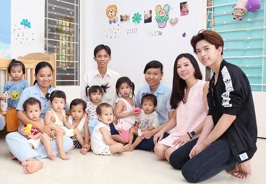 Mái ấm Thiên Thần hiện đang nuôi dưỡng hơn 30 trẻ em mồ côi từ sơ sinh đến 3 tuổi. - Tin sao Viet - Tin tuc sao Viet - Scandal sao Viet - Tin tuc cua Sao - Tin cua Sao