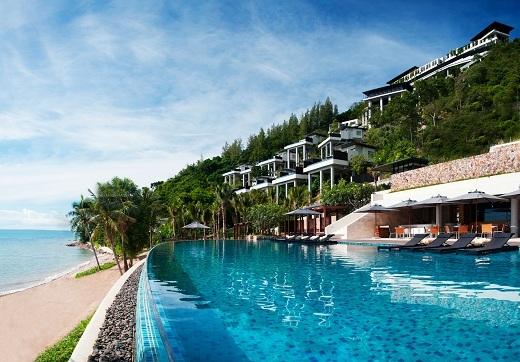 Resort này thật không khác thiên đường là bao.