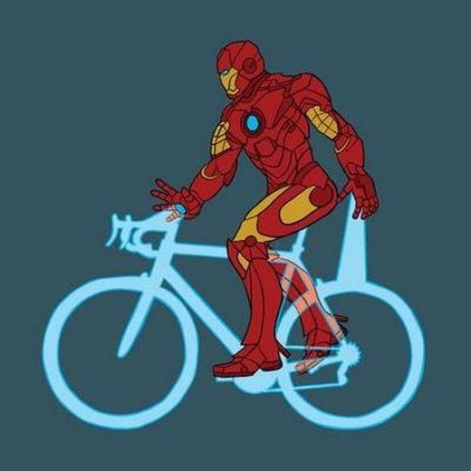Chiếc xe bằng ánh sáng của Iron Man