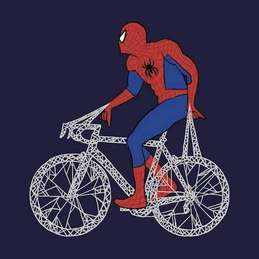 Chiếc xe đạp đầy tơ của Spiderman