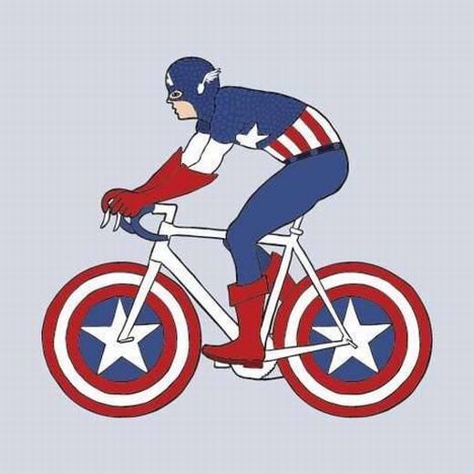 """Không thể nhịn cười với loạt ảnh """"siêu nhân nào xe đạp nấy"""""""