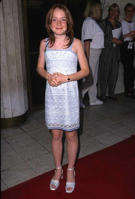 Lindsay Lohan năm 1998