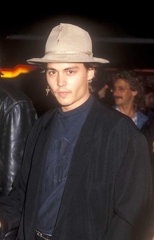 Johnny Depp năm 1988