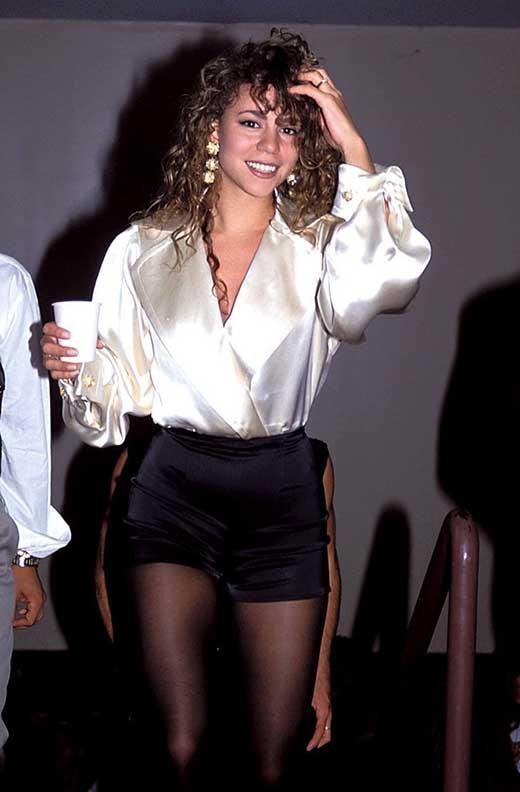 Mariah Carey năm 1991
