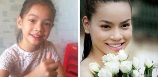 Từng có thời gian cư dân mạng truyền tay nhau bức hình của một bé gái 3 tuổi có thần thái giống hệt Hồ Ngọc Hà. Ai nấy cũng đều vô cùng ngạc nhiên trước độ giống nhau của hai người. - Tin sao Viet - Tin tuc sao Viet - Scandal sao Viet - Tin tuc cua Sao - Tin cua Sao