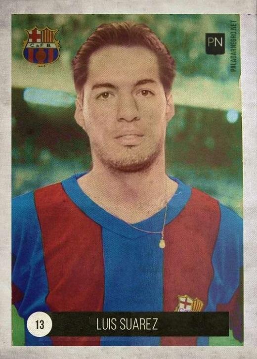 Luis Suarez không có nhiều đổi thay ngoại trừ mái tóc hợp mốt những năm 50 của thế kỷ trước.