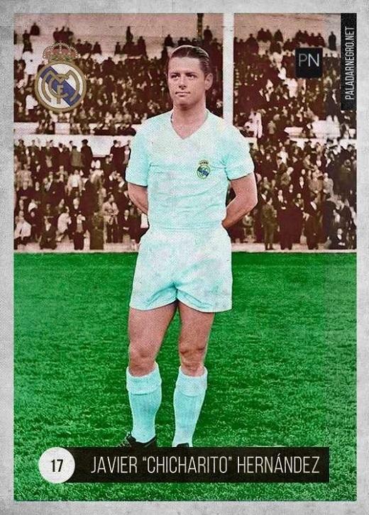 Cầu thủ từng chơi bóng cho Real theo dạng cho mượn mùa trước, Chicharito cũng không quá khác lạ với mái tóc vuốt gel, bổ luống giữa.