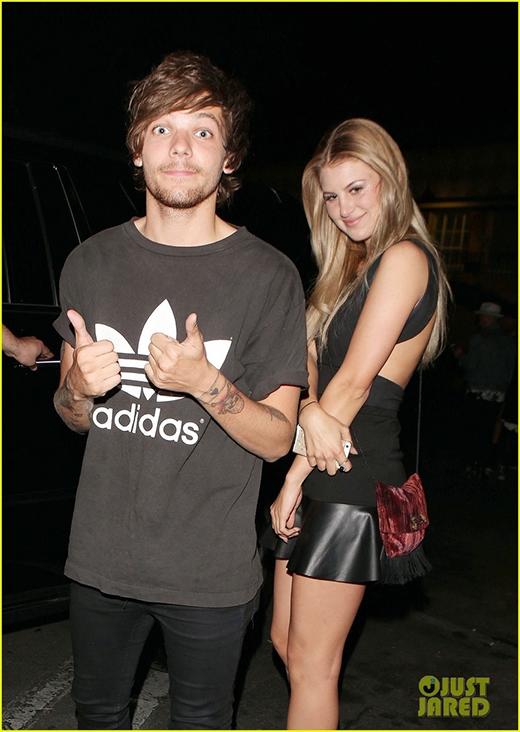 Louis và người bạn thân Briana