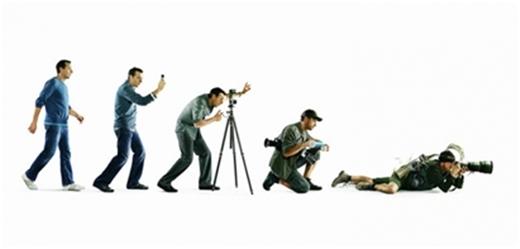 ,  Các giai đoạn tiến hóa của một phóng viên.