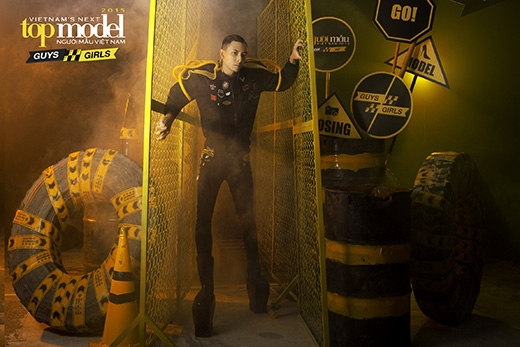 Hoàng Gia Anh Vũ, chàng trai từng gây sốt khi tham gia casting tại Hà Nội với thân hình chuẩn cùng gương mặt điển trai.