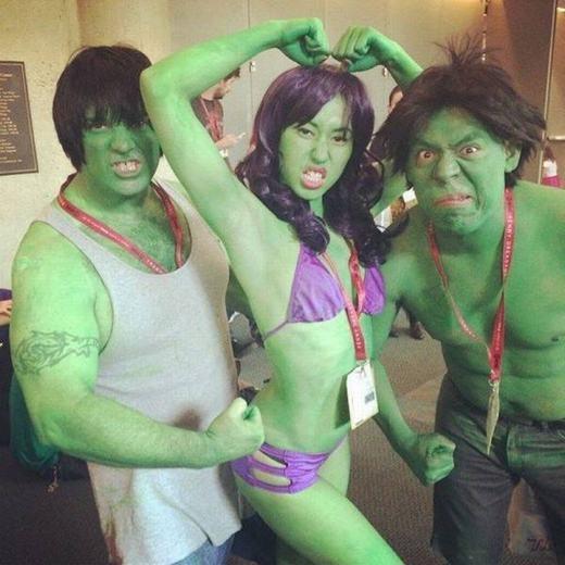 Gia đình nhà Hulk?