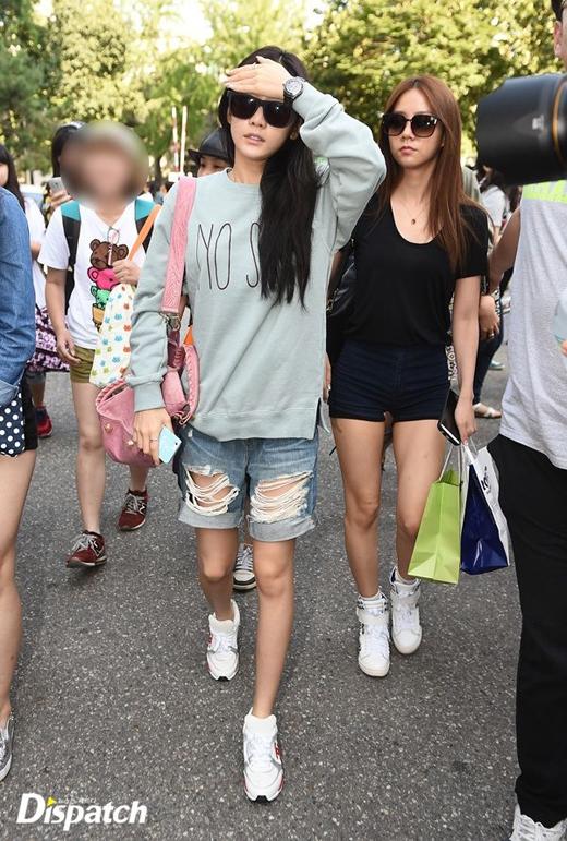 Gục ngã với những đôi chân dài miên man của mỹ nhân Hàn