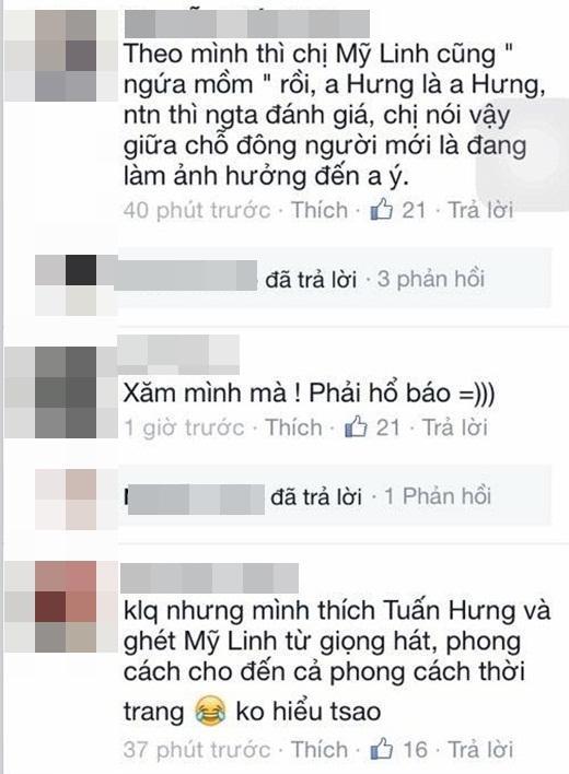 Một số bình luận của cư dân mạng trong những hình ảnh mà Tuấn Hưng đăng tải. - Tin sao Viet - Tin tuc sao Viet - Scandal sao Viet - Tin tuc cua Sao - Tin cua Sao