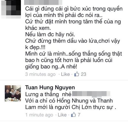 Nam ca sĩ thẳng thắn tuyên bố mình chỉ coi Hồng Nhung và Thanh Lam là những người chị lớn thật sự. - Tin sao Viet - Tin tuc sao Viet - Scandal sao Viet - Tin tuc cua Sao - Tin cua Sao