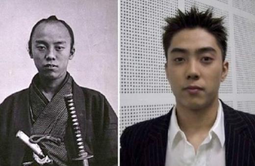 Trừ hàm răng có phần nhô ra, Eun Ji Won trông không khác Morikazu Numa – chính trị gia, nhà báo thời Minh Trị của Nhật Bản, là bao.