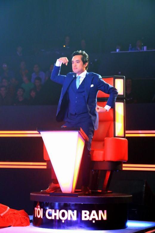Dương Khắc Linh cực yêu trên ghế nóng, Cẩm Ly thuyết phục được nhân tài - Tin sao Viet - Tin tuc sao Viet - Scandal sao Viet - Tin tuc cua Sao - Tin cua Sao