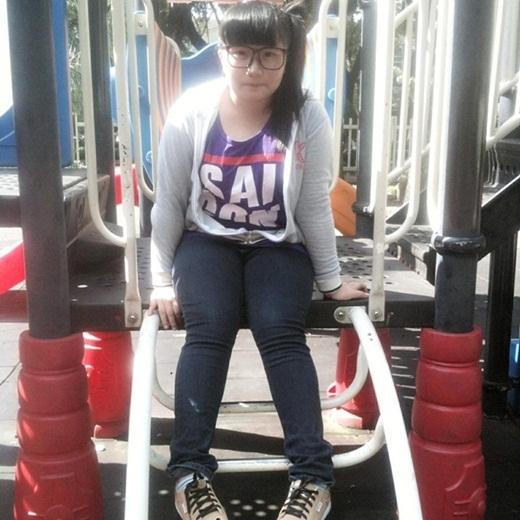 Khi Kim Thanh còn 75 - 80kg.