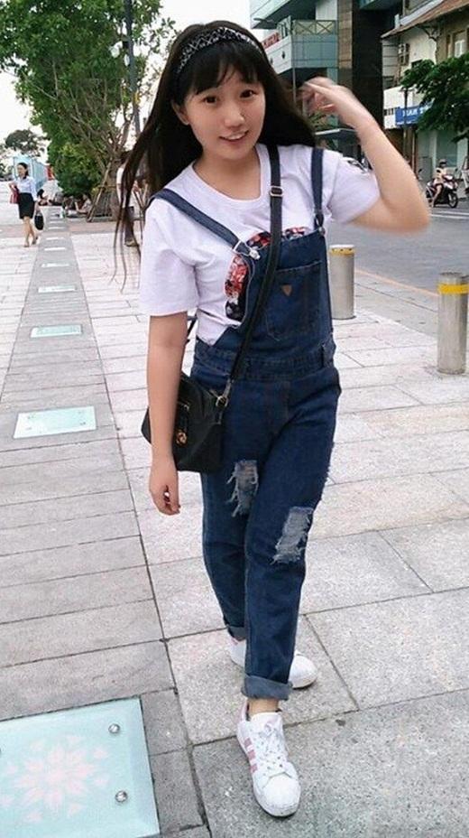 Kim Thanh sau khi giảm được 25kg trong vòng 4 tháng kiên trì.