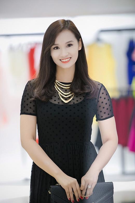 Người đẹp Lã Thanh Huyền cũng có mặt trong sự kiện. - Tin sao Viet - Tin tuc sao Viet - Scandal sao Viet - Tin tuc cua Sao - Tin cua Sao