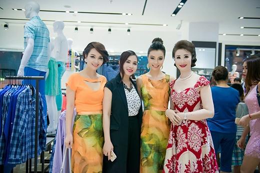 Hai chị em Mai Thu Huyền - Mai Thu Trang cùng hai nữ doanh nhân Lưu Nga và Thúy Nga - Tin sao Viet - Tin tuc sao Viet - Scandal sao Viet - Tin tuc cua Sao - Tin cua Sao