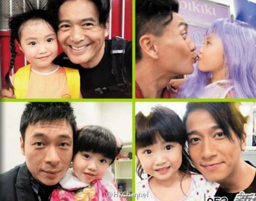 Xót xa sao nhí 6 tuổi nổi tiếng nhất TVB bị lừa chụp ảnh hở hang
