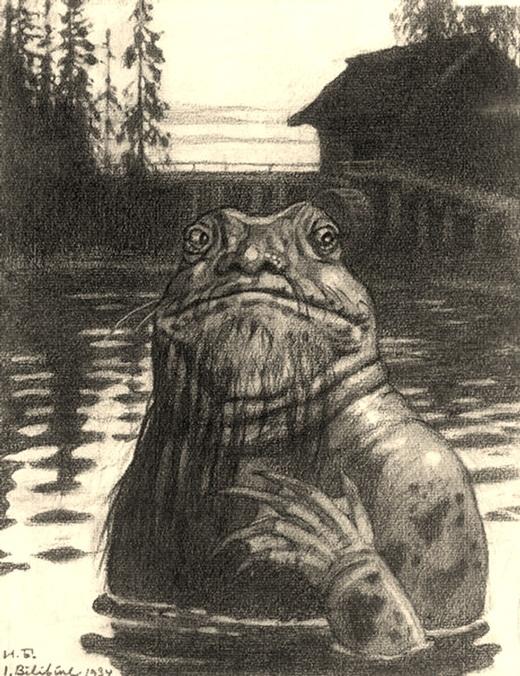 Trong thần thoại Slavic, Vodyanoy được miêu tả có bề ngoài như một người đàn ông già với cơ thể trần truồng, khuôn mặt giống ếch, có râu xanh, tóc dài, cùng những vảy cá đen và tảo bao phủ khắp người. Khi tức giận, Vodyanoy sẽ phá vỡ những chiếc đập để gây ra những trận lũ lụt. Chúng cũng thường xuyên kéo những con người xuống dưới nước để làm nô lệ phục vụ mình.