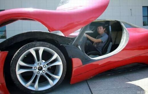Khó tin với chiếc siêu xe tự chế với chi phí chỉ 100 triệu đồng