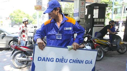 Từ 15g ngày 20/7/2015, giá xăng dầu sẽ giảm