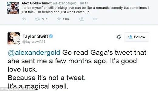 Dòng tweet Taylor an ủi fan của mình.