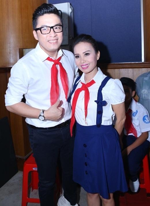 Anh Hai Lam Trường và Cẩm Ly trẻ trung trong bộ đồng phục học sinh. - Tin sao Viet - Tin tuc sao Viet - Scandal sao Viet - Tin tuc cua Sao - Tin cua Sao