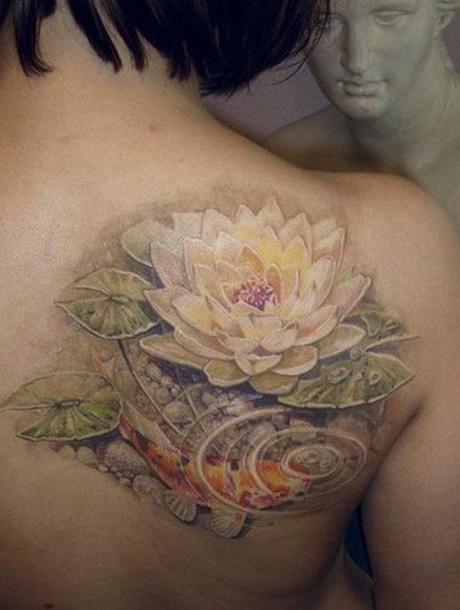 Bật mí ý nghĩa đằng sau hình xăm những loài hoa