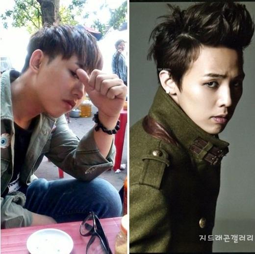 Vào khoảng tháng 8/2014, hình ảnh anh chàng giống hệt với ngôi sao nổi tiếngHàn QuốcG-Dragon -trưởng nhóm Big Bang- đã làm xôn xao cộng đồng mạng. Góc mặt, biểu cảm, đường nét cũng như phong cách của anh chàng này khiến nhiều bạn trẻ phải sửng sốt, ngạc nhiên.