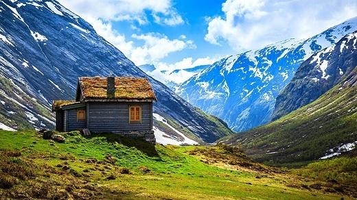 Đây chắc chắn là nơi yên tĩnh nhất thế giới, rất thích hợp cho ai đang cần một không gian riêng thanh bình và gần gũi với thiên nhiên.