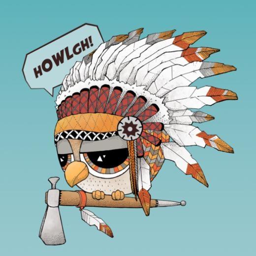 ... hoặc là thổ dân da đỏ.
