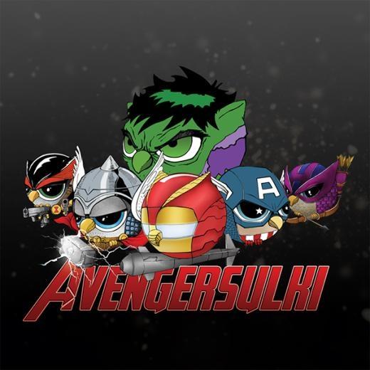 Biệt đội siêu anh hùng phiên bản cú.