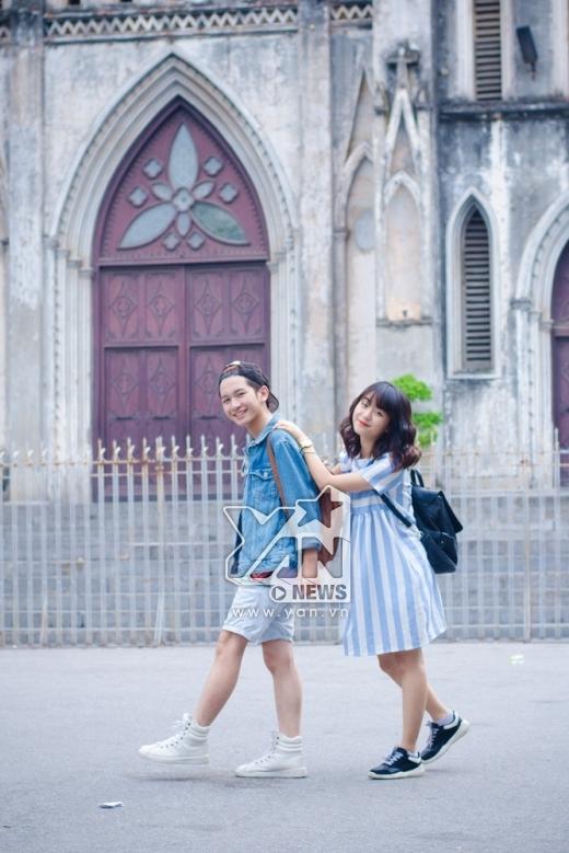 Cặp đôi Hoàng Dương - Linh Kett buồn cười khi thấy tin đồn hẹn hò