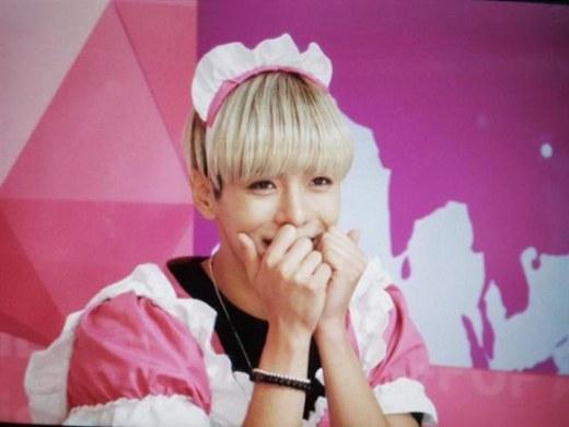 Nếu có thêm bộ giả, chắc hẳn Jaeho (History) sẽ là cô hầu xinh đẹp nhất trong số các mỹ nam Kpop nhờ vẻ ngoài khiến con gái cũng phải ganh tỵ.