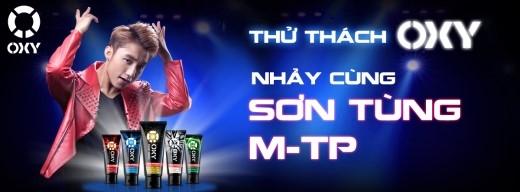 """Hãy sẵn sàng cho thử thách""""Nhảy cùng Sơn Tùng M-TP""""."""