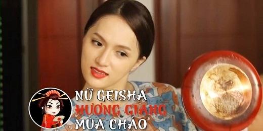 Hương Giang Idol hóa geisha múa chảo