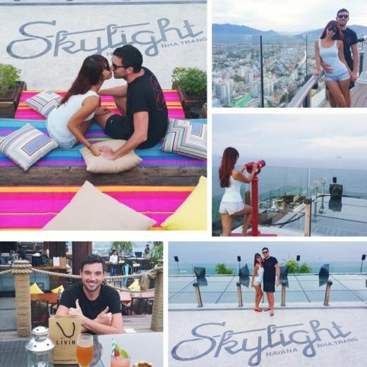 Những hình ảnh lãng mạn của cả hai được Hà Anh chia sẻ trên trang cá nhân. - Tin sao Viet - Tin tuc sao Viet - Scandal sao Viet - Tin tuc cua Sao - Tin cua Sao