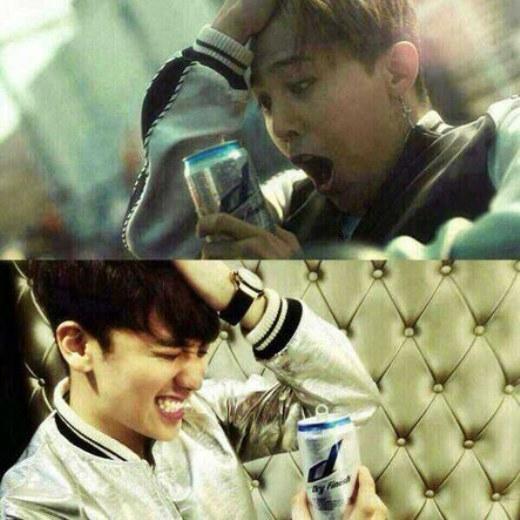 """G-Dragon cũng trở thành nạn nhân trong trò """"dìm hàng"""" của em út Seungri."""
