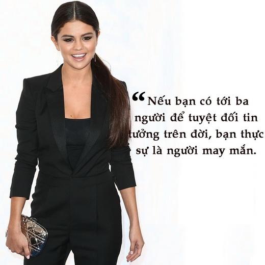 Những câu nói đáng nhớ của Selena Gomez