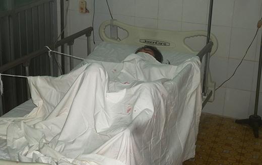 Chị Bích đang được nằm tại phòng cách li đặc biệt của Bệnh viện Da liễu TP.HCM