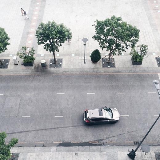 Quảng trường Nguyễn Huệ từ trên cao nhìn sang chảnh không thua kém những nơi khác của Sài Gòn. (nguồn: IG duyduong)