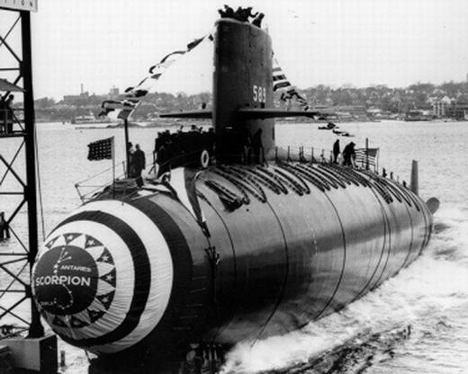Trên các đại dương vào năm 1968, đã có hàng loạt tàu ngầm của các quốc gia gồm Hoa Kì, Nga, Israel và Pháp mất tích. Nguyên nhân của nó cho đến nay vẫn chưa được giải đáp thỏa đáng.
