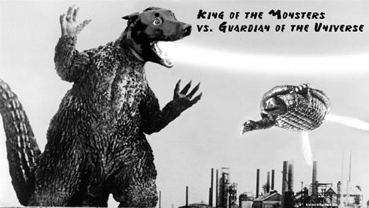 Minh tinh trong phim bom tấn Đại chiến Chúa tể quái vật và Vệ binh vũ trụ.
